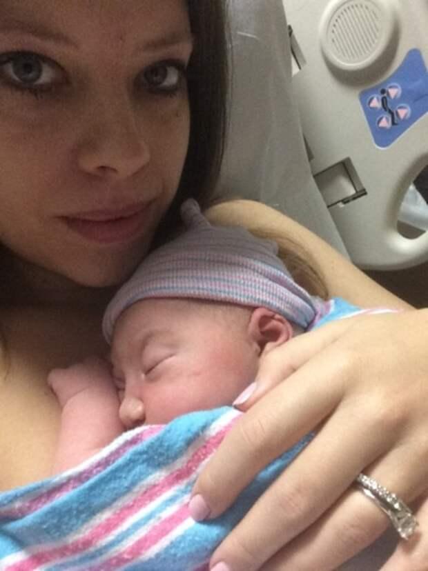 Она и представить не могла, что с ней случится после 10 месяцев беременности
