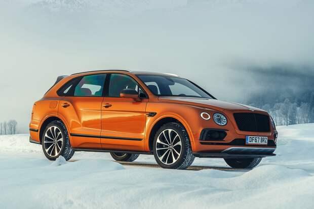 Кроссоверы Bentley Bentayga поразила болезнь Porsche — объявлен отзыв в России