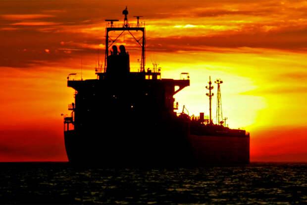 Танкер уходит экспорт импорт