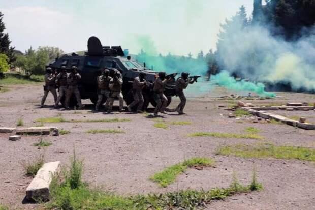 «Троянский след»— инструкторы США дали хорошую оценку грузинским военным
