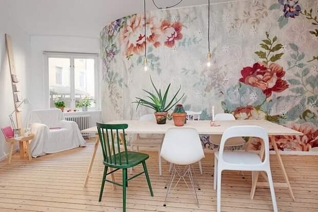 Забудьте о скучных обоях: необычные идеи для оформления стен тканью
