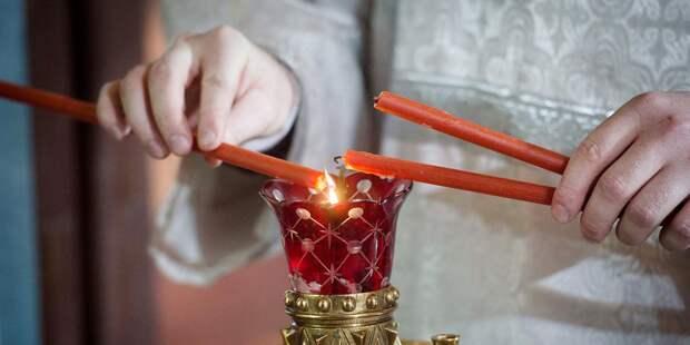 В храме в Марьиной роще раздадут благодатный огонь