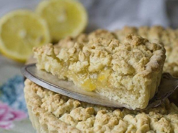 ДЕСЕРТНЫЙ ВИХРЬ. Лимонный тертый пирог