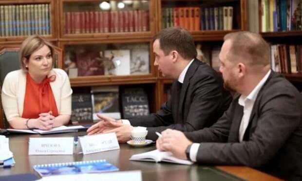Александр Цыбульский обсудил вопросы развития культуры сглавой минкульта России Ольгой Любимовой