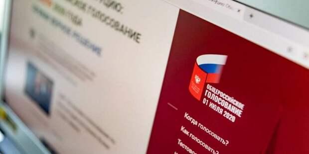 Дмитрий Реут сообщил о начале электронного голосования в Москве. Фото: mos.ru