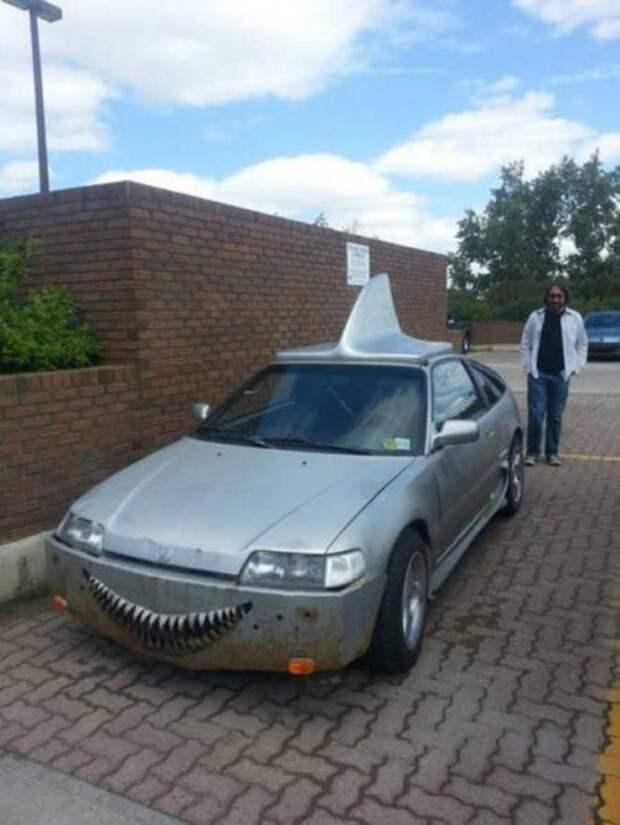 Сумасшедшие и странные транспортные средства (25 фото)
