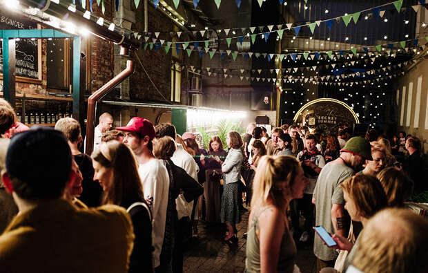 Первая вечеринка Jameson Secret Summer Parties