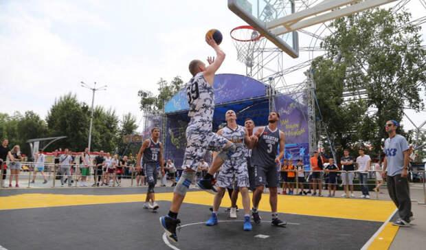 Около 30 команд примут участие в турнире по стритболу в Хабаровске в эти выходные