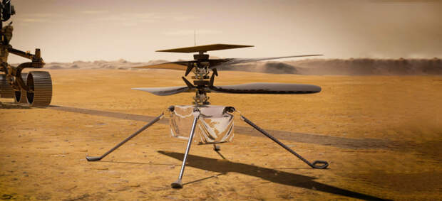 Марсолет NASA успешно совершил первый полет