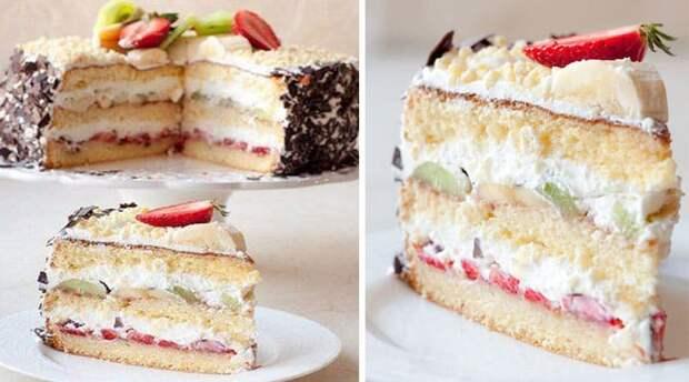 Пирог на кефире Сама нежность. Сливочно-ванильно-кокосовый десерт понравится всем 4