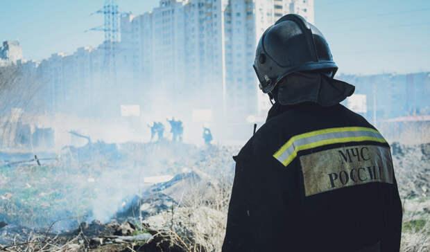 Предупреждение опожарах продлено вСвердловской области