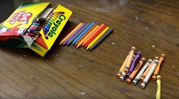 восковые мелки crayola