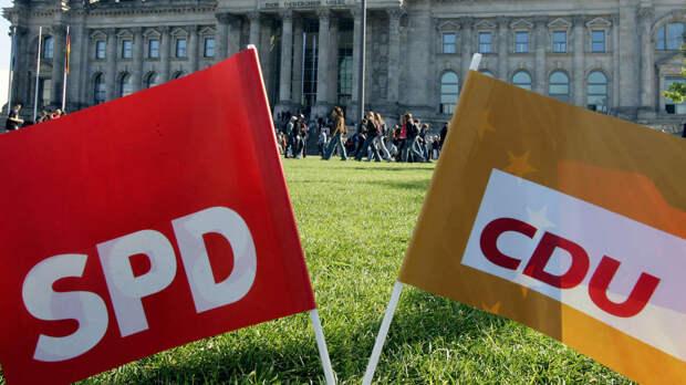 Немцам наскучил нерушимый блок ХДС/ХСС?