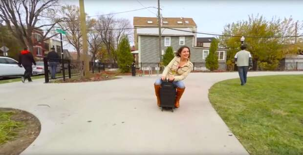Наконец-то изобрели самый лучший чемодан на свете!