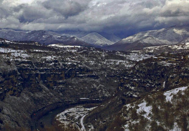 Чиатура— исчезающий город вГрузии