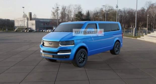 На рендерах показали модернизированную УАЗ «Буханка»