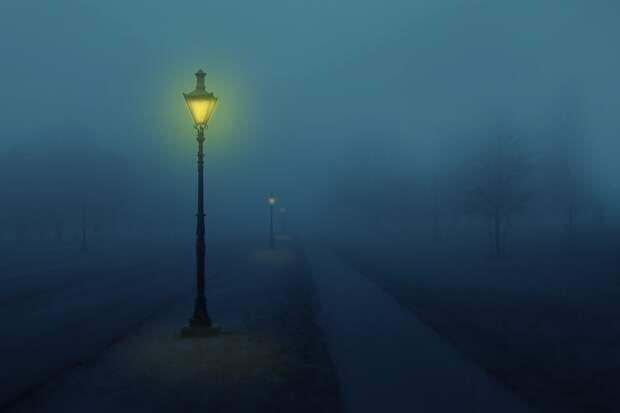 Жители «Костиной мельницы» в Ижевске пожаловались на неработающие уличные фонари