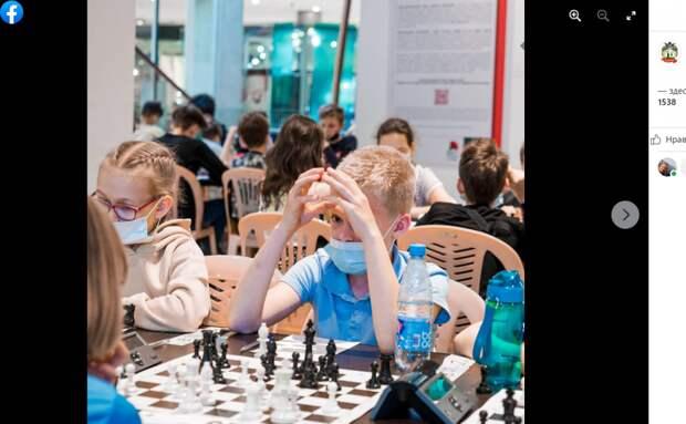 Шахматисты из школы №1538 вышли в финал турнира «Белая ладья»