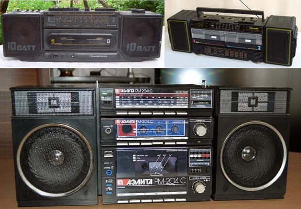Крутая аппаратура пацанов 80-х.