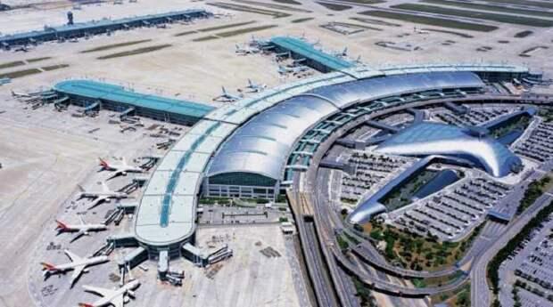 Incheon International Airport - один из самых современных аэропортов в мире.