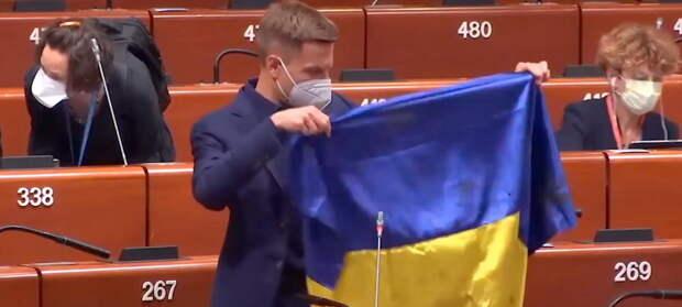 Украинская провокация неожиданно нарвалась на жесткий ответ руководства ПАСЕ