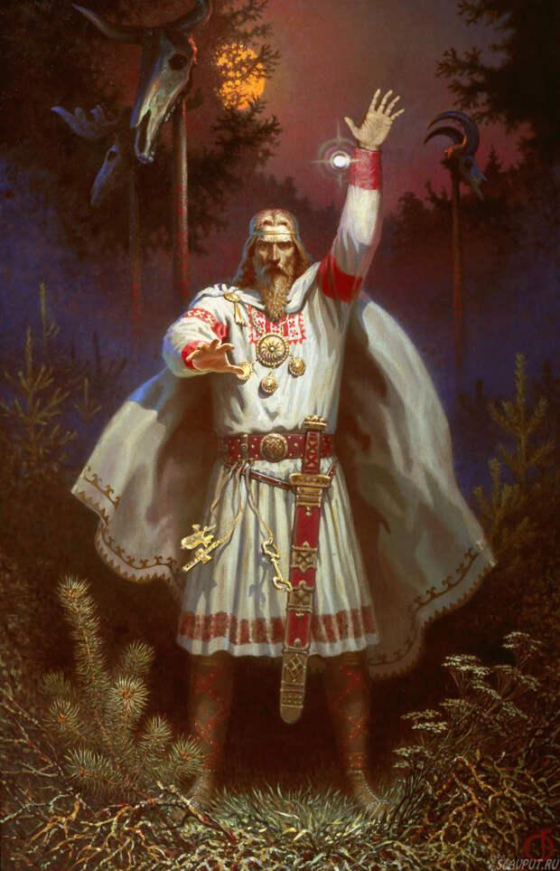 Лики славянских богов. Световит или Белобог