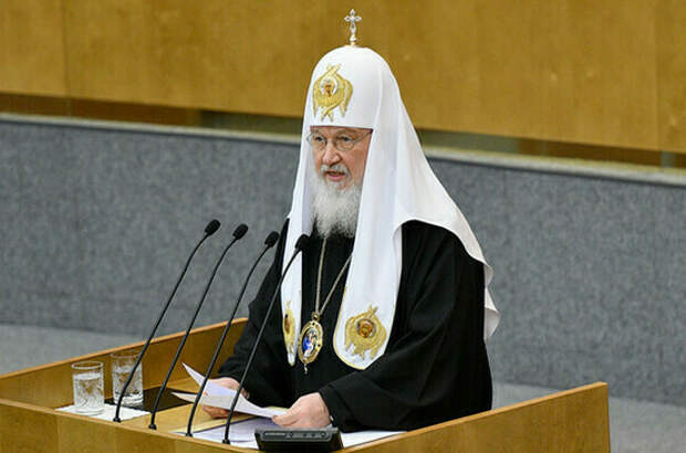 Патриарх Кирилл выступит в Госдуме 18 мая