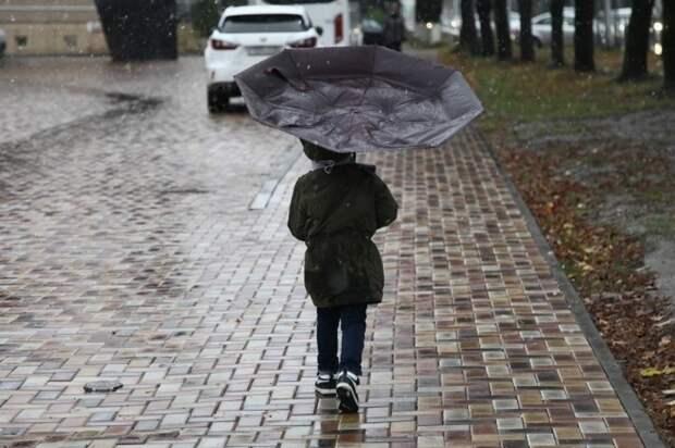 Москве с 27 по 28 октября 2021 года объявлен «желтый» уровень погодной опасности