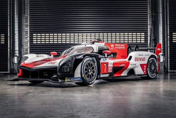 Toyota представила гоночную версию своего будущего гиперкара