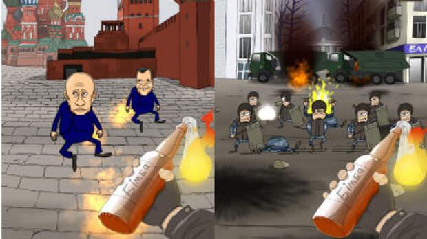 Создана игра по мотивам революционных событий на Украине