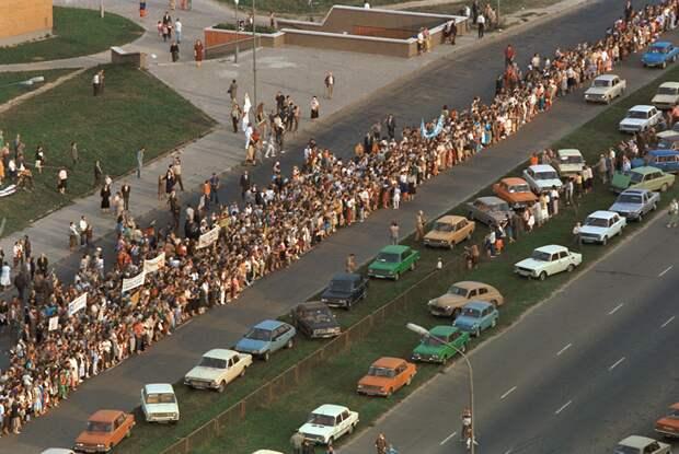 Вильнюс, 23 августа 1989 года