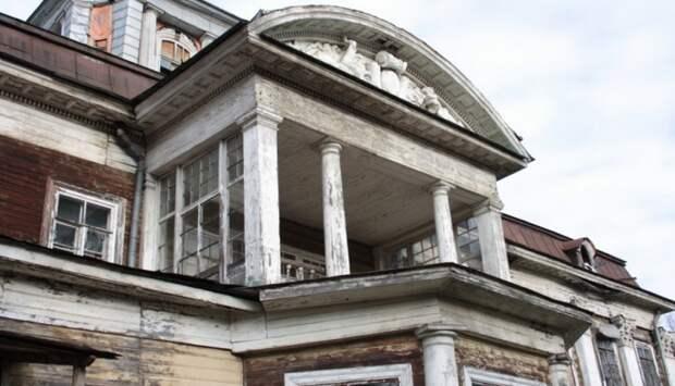 Комплексные работы по сохранению усадьбы Виноградово на Дмитровке начнут в июле