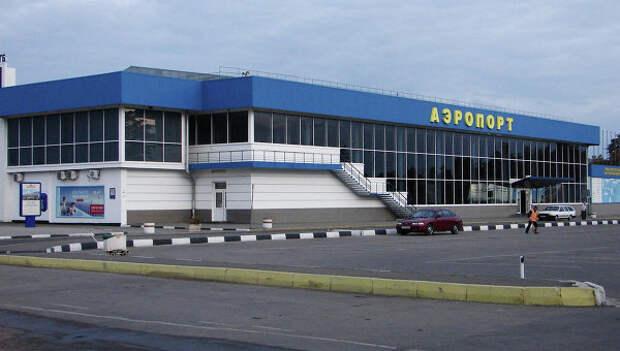 Международный аэропорт Симферополь. Архивное фото.