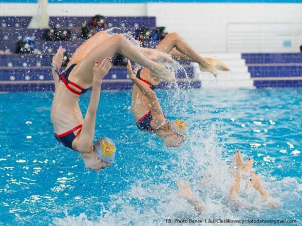 Фото предоставлено центром по синхронному плаванию М. Киселевой