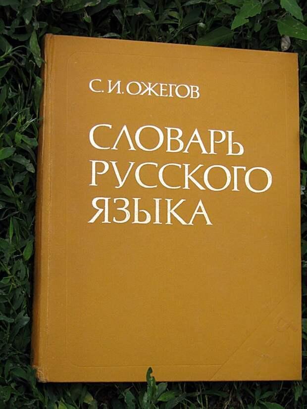 История Сергея Ожегова, составителя словарей