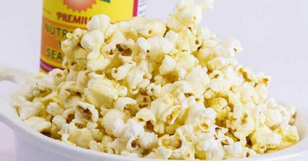 попкорн сырный