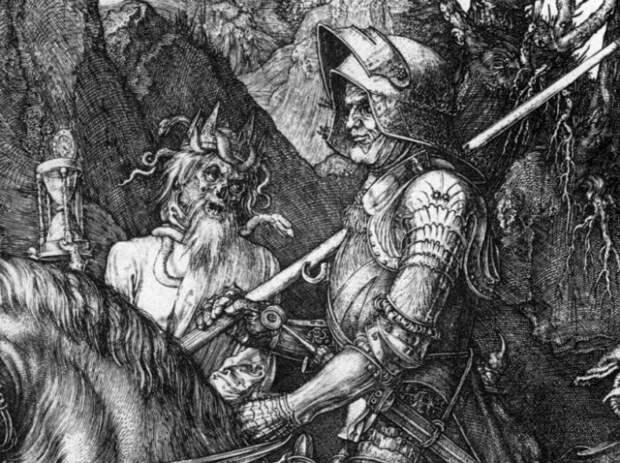 Дюрер уделил особое внимание деталям образа Смерти
