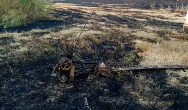 В суде вынесли приговор трактористу из Оренбуржья, уничтожившему 172 га поля озимых