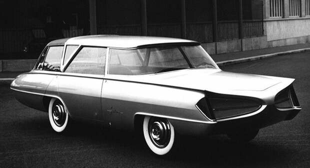 Революционный концепт Selene был макетом, рассчитанным лишь на восторженное созерцание авто, автомобили, атодизайн, дизайн, интересный автомобили, олдтаймер, ретро авто, фургон