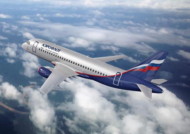"""Перевозки пассажиров самолетами """"Аэрофлота"""" в 2020 году сократились в два раза"""