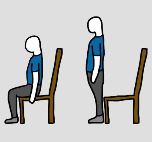 7 упражнений для снятия болевых ощущений. Устрани проблему, не вставая с места