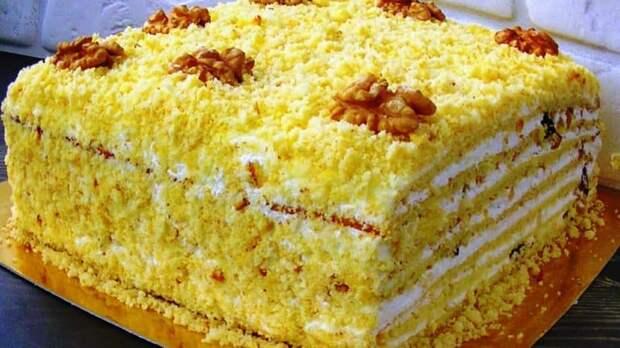 Торт Молочная девочка. Один из самых нежных и вкусных тортов 4