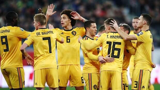 Сборная Бельгии без Де Брейне вылетела на матч против России