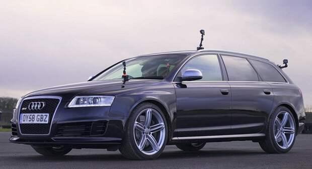 BMW M5 V10, Mercedes-Benz E 55 AMG и Audi RS6 сразились в дрэге