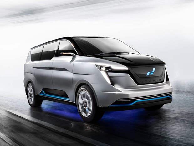 Китайская Iconiq создала минивэн Iconiq, Монтеррей, авто