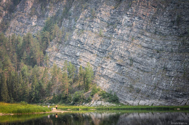 Камень Великан - самый высокий на Чусовой