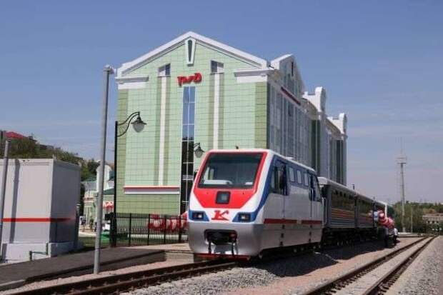На Приволжской детской железной дороге в Волгограде  начался  практический сезон