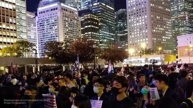 Китай ввел санкции против нескольких организаций США из-за закона по Гонконгу