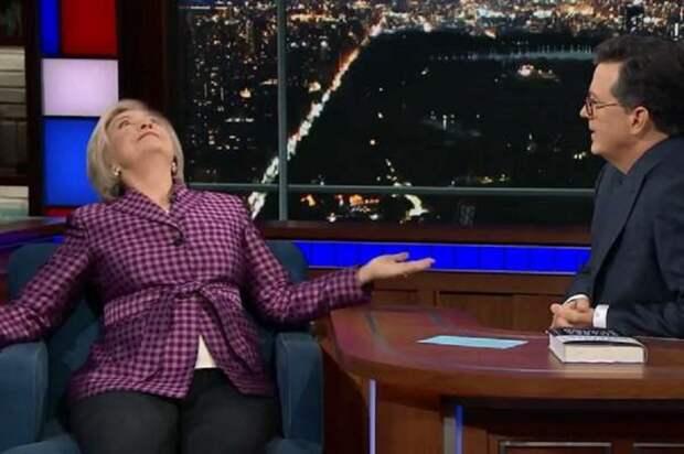 Клинтон: Путин ужасен, он раздвигает ноги