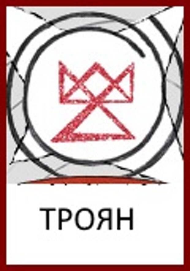 Славянские Боги: Знак Бога Трояна